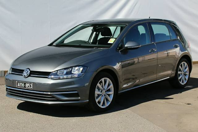 2019 Volkswagen Golf 110TSI Comfortline 7.5 MY19.5 INDIUM GREY