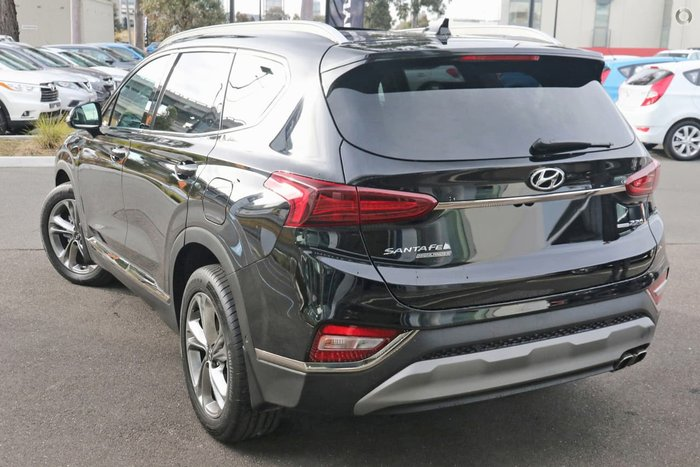 2019 Hyundai Santa Fe Highlander TM MY19 4X4 On Demand Black