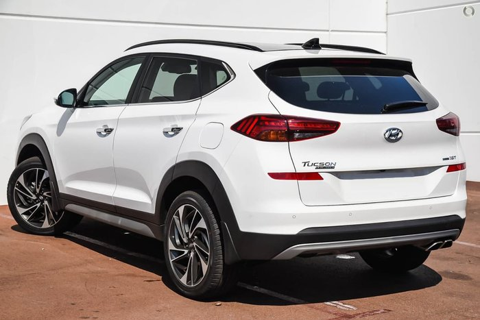 2019 Hyundai Tucson Highlander TL3 MY19 4X4 On Demand White