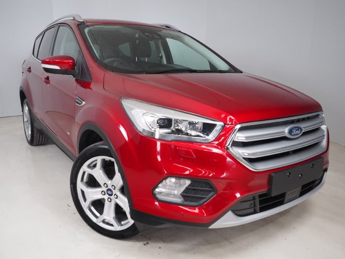 2018 Ford Escape Titanium ZG MY18.75 4X4 On Demand Red