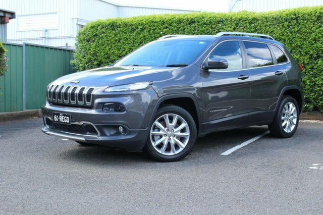 2014 Jeep Cherokee Limited KL 4X4 On Demand GREY