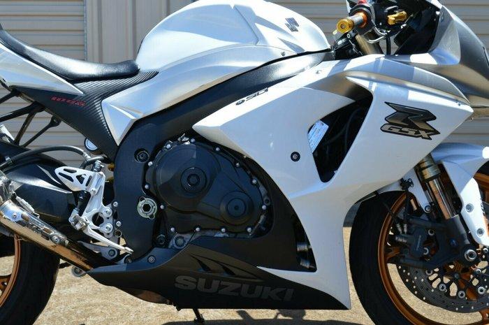 2009 Suzuki GSX-R1000 White