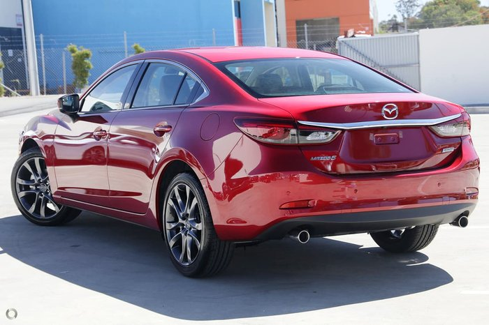 2018 Mazda 6 GT GL Series Red