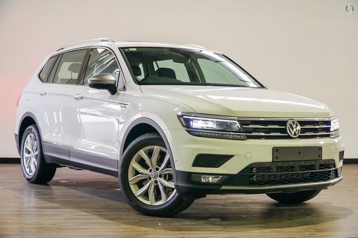 2018 Volkswagen Tiguan 132TSI Comfortline Allspace 5N MY18 White
