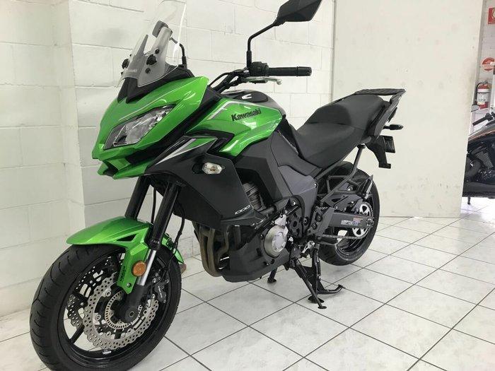 2017 Kawasaki VERSYS 1000 (KLZ1000) Green