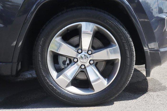 2015 Jeep Grand Cherokee Overland WK MY15 4X4 Dual Range Grey
