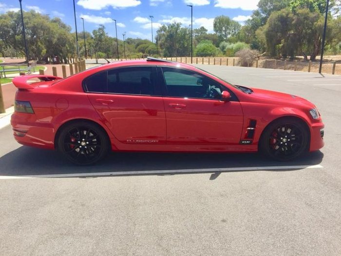 2012 HSV CLUBSPORT R8 E3 MY12 STING RED