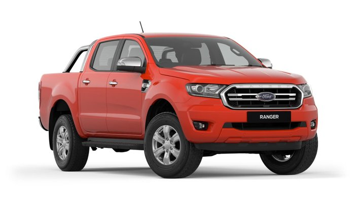 2019 Ford Ranger XLT PX MkIII MY19 4X4 Dual Range Race Red
