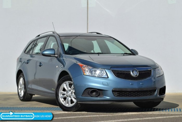 2013 Holden Cruze CD JH Series II MY14 BLUE