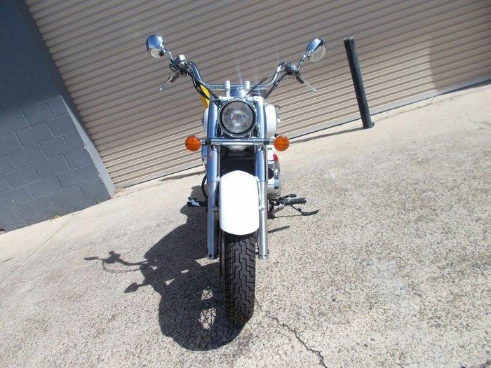 2010 Honda VT400 White