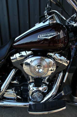 2005 Harley-davidson FLHR ROAD KING Black Cherry Pearl