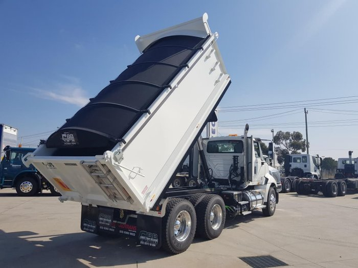 2019 INTERNATIONAL PROSTAR 550HP AMT HARDOX TIPPER IN STOCK NOW null null White