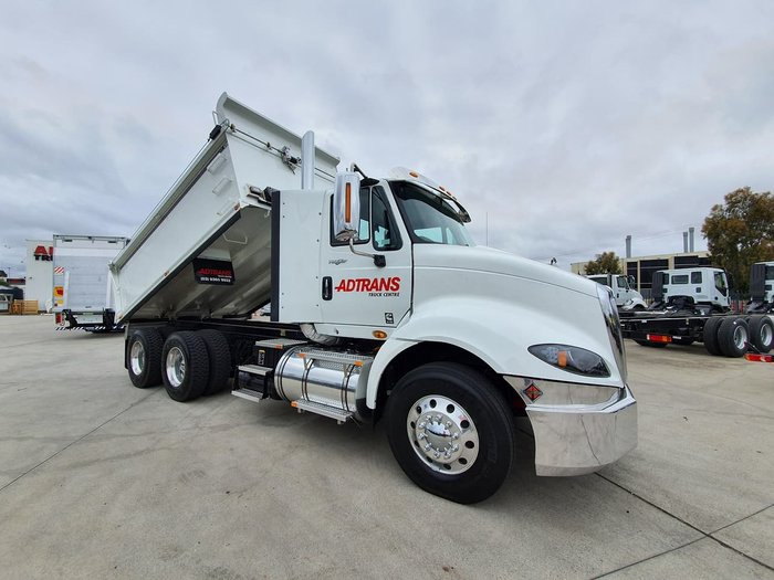 2020 INTERNATIONAL PROSTAR 550HP AMT HARDOX TIPPER null null White