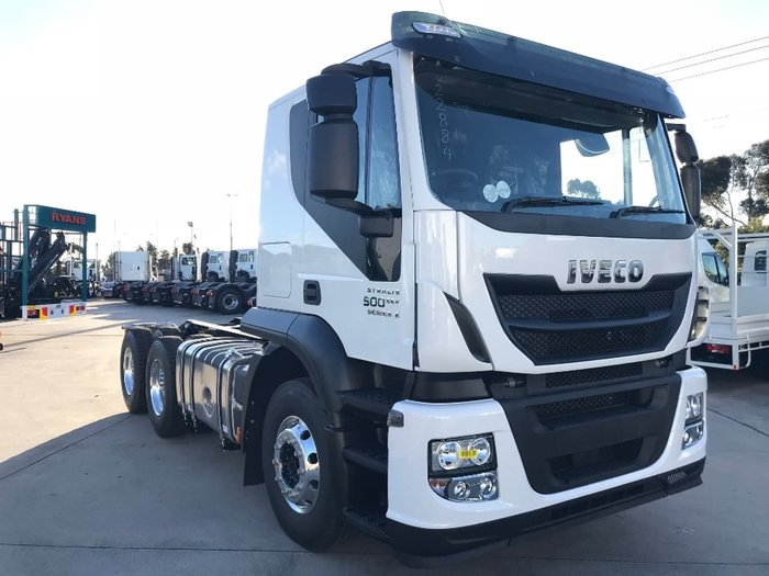 2019 IVECO STRALIS AT 500 SERIES 2 null null White
