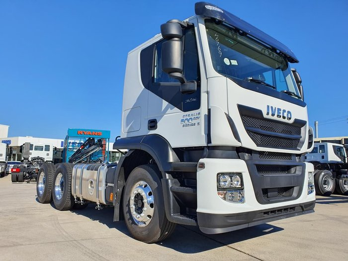 2019 IVECO STRALIS AT 500 SERIES 2 - OUR LAST ONE IN STOCK null null White