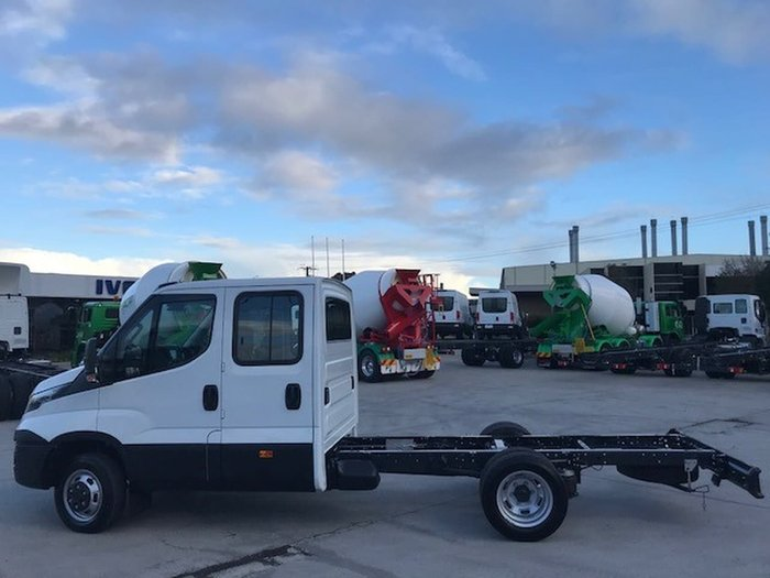 2018 IVECO DAILY 50C21 DUAL CAB null null White