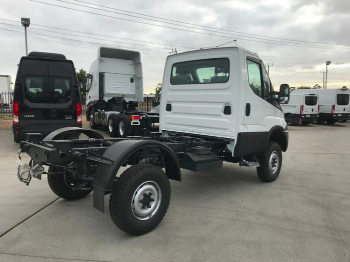 2019 IVECO DAILY 55S18W 4X4 SINGLE CAB - ON CLEARANCE null null White