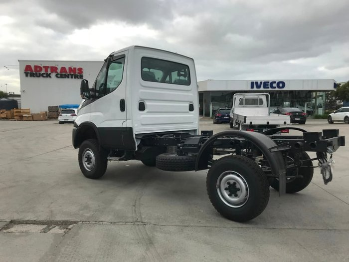 2020 IVECO DAILY 55S18W 4X4 SINGLE CAB - ON CLEARANCE null null White