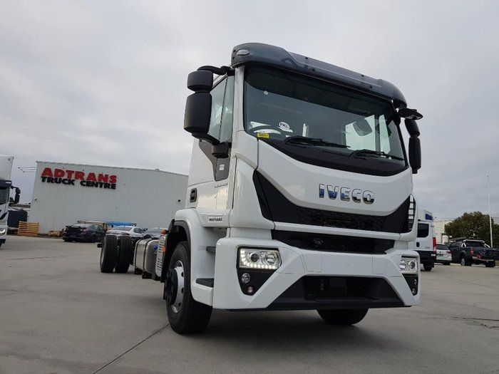 2019 IVECO ML160 E28 DAY CAB EEV - CAB CHASSIS 9 SPEED MANUAL null null White