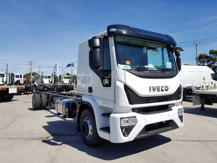 2019 IVECO EUROCARGO ML160 E28 EEV SLEEPER AUTOMATIC null null White