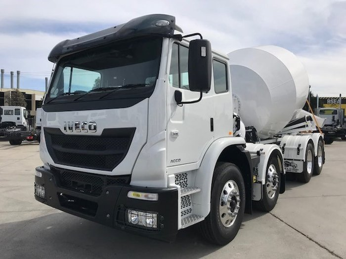 2018 IVECO ACCO 8X4 AGI DIMEDIO SPEC *READY TO WORK* null null White