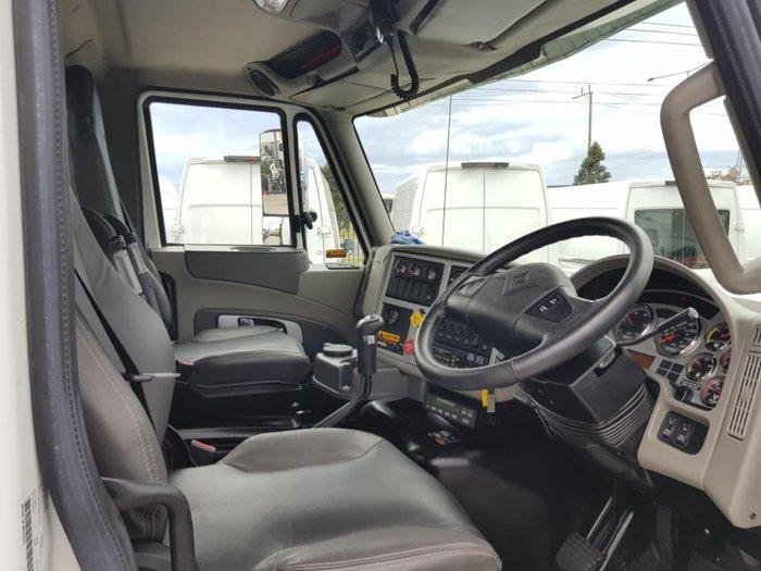 2019 INTERNATIONAL PROSTAR DAY CAB LOG TRUCK null null white