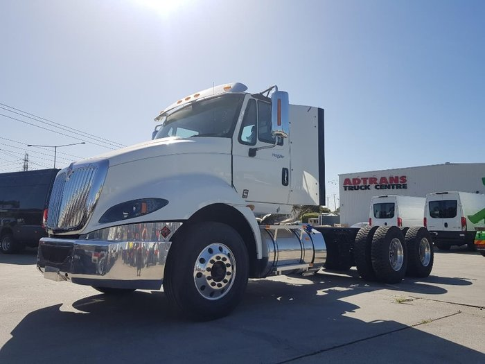 2019 INTERNATIONAL PROSTAR -TIPPER SPEC CAB CHASSIS null null White