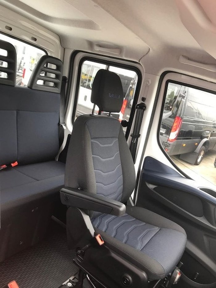 2019 IVECO DAILY 50C21A8 DUAL CAB ALLOY TRAY null null White