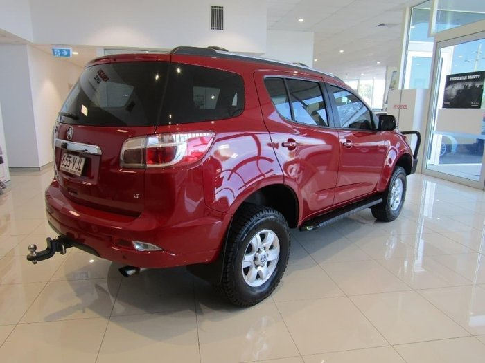 2015 Holden Colorado 7 LT RG MY16 4X4 Dual Range Red