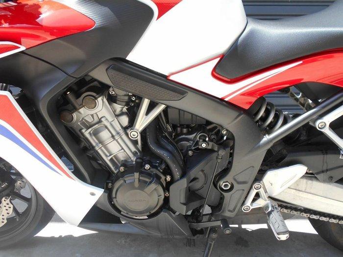 0 Honda 2016 HONDA 650CC CBR650FL TRI