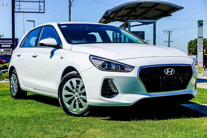 2018 Hyundai i30 Go PD MY18 White