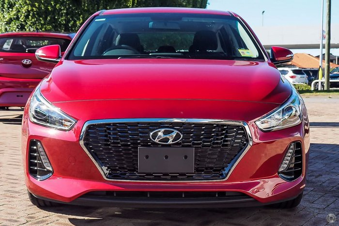 2018 Hyundai i30 Active PD2 MY18 Red