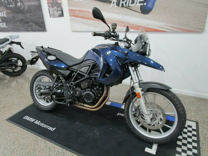 2011 BMW F 800 GS Blue