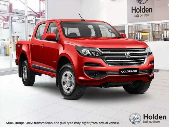 2018 Holden Colorado LS RG MY19 4X4 Dual Range ABSOLUTE RED