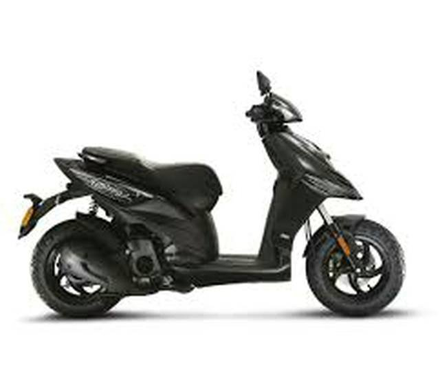 2019 PIAGGIO TYPHOON 50 SCOOTER BLACK