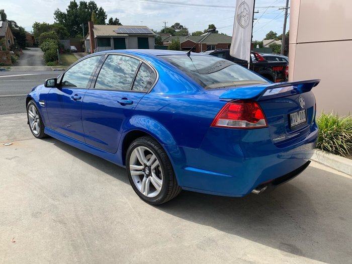 2009 Holden Commodore SV6 VE MY09.5 Blue