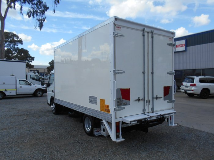 2012 Fuso Canter 515 Wide WHITE