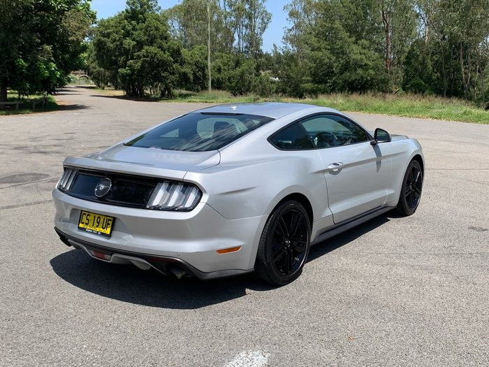 2017 Ford Mustang FM MY17 Silver