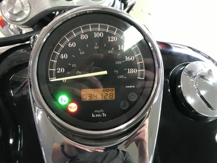 2009 Honda VT400 SILVER