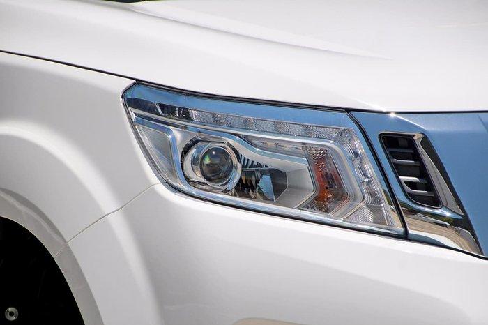 2018 Nissan Navara ST D23 Series 3 4X4 Dual Range White