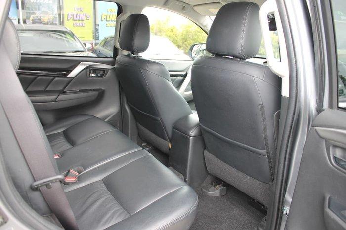 2017 Mitsubishi Pajero Sport Exceed QE MY17 4X4 Dual Range Grey