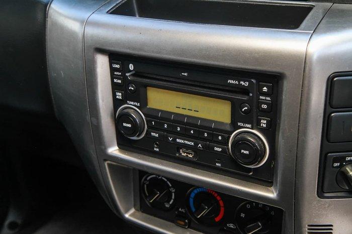 2012 Nissan Patrol ST GU 7 MY10 4X4 Dual Range Silver