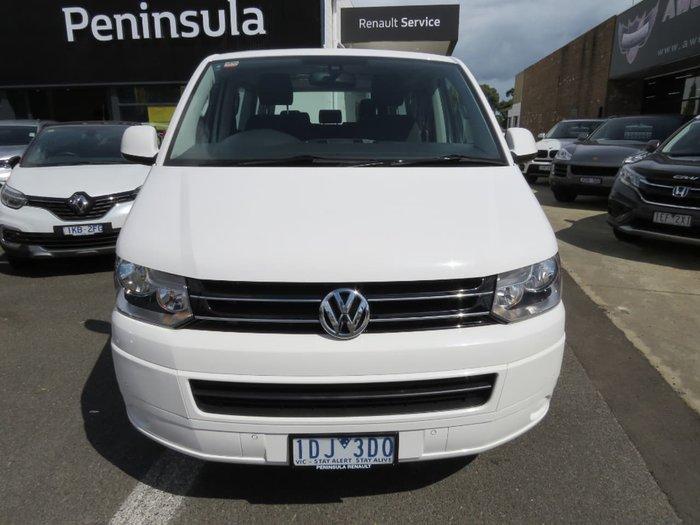 2014 Volkswagen Multivan TDI400 Comfortline T5 MY14 White