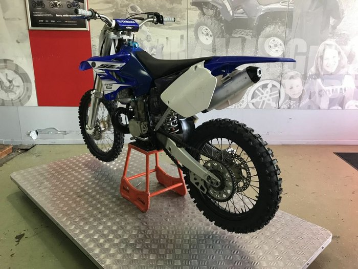 2003 Yamaha YZ250 Blue