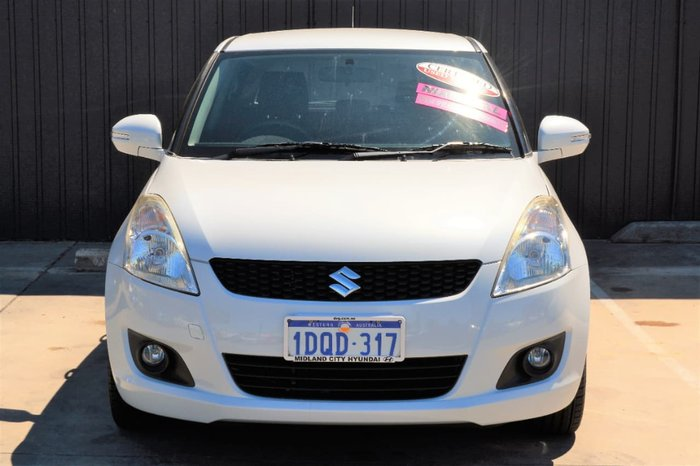 2008 Suzuki Swift GLX RS415 White