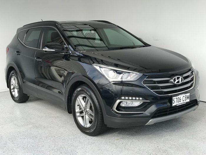 2017 Hyundai Santa Fe Active DM3 Series II MY17 4X4 On Demand Black