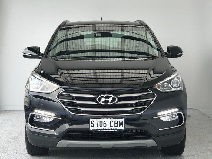 2017 Hyundai Santa Fe Active DM3 Series II MY17 4X4 On Demand Black