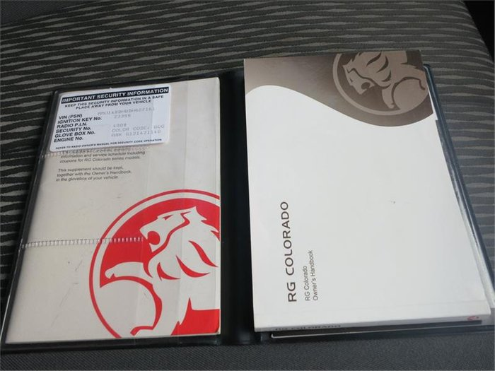 2012 HOLDEN COLORADO LX (4x4) RG Grey