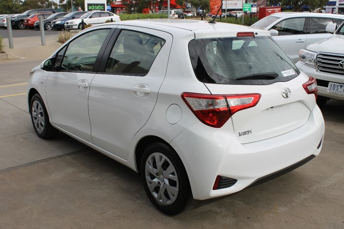 2017 Toyota Yaris Ascent NCP130R White