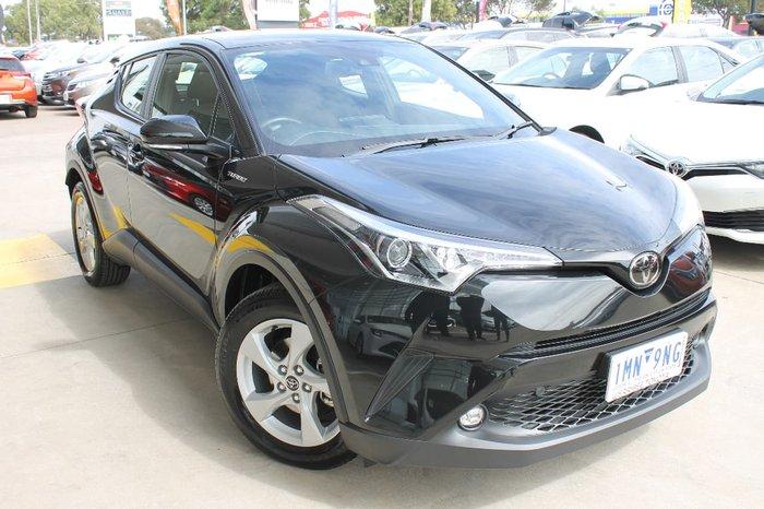 2018 Toyota C-HR NGX50R 4X4 On Demand Black